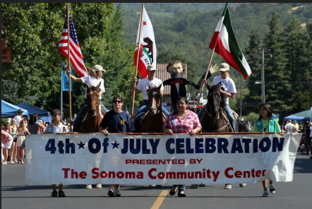 Sonoma Fourth of July Parade - Booker and Butler Concierges