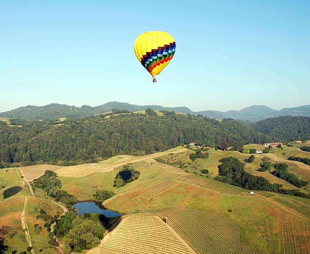 Napa Hot Air Ballooning - Booker and Butler Concierges